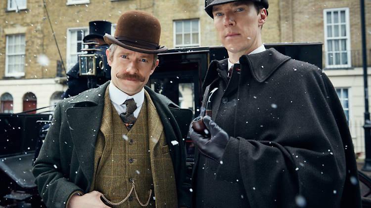 Capítulo especial de Sherlock por BBC