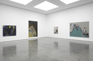 ('Tightrope Walk: Painted Images After Abstraction' exhibition view. Photo © White Cube (George Darrell))