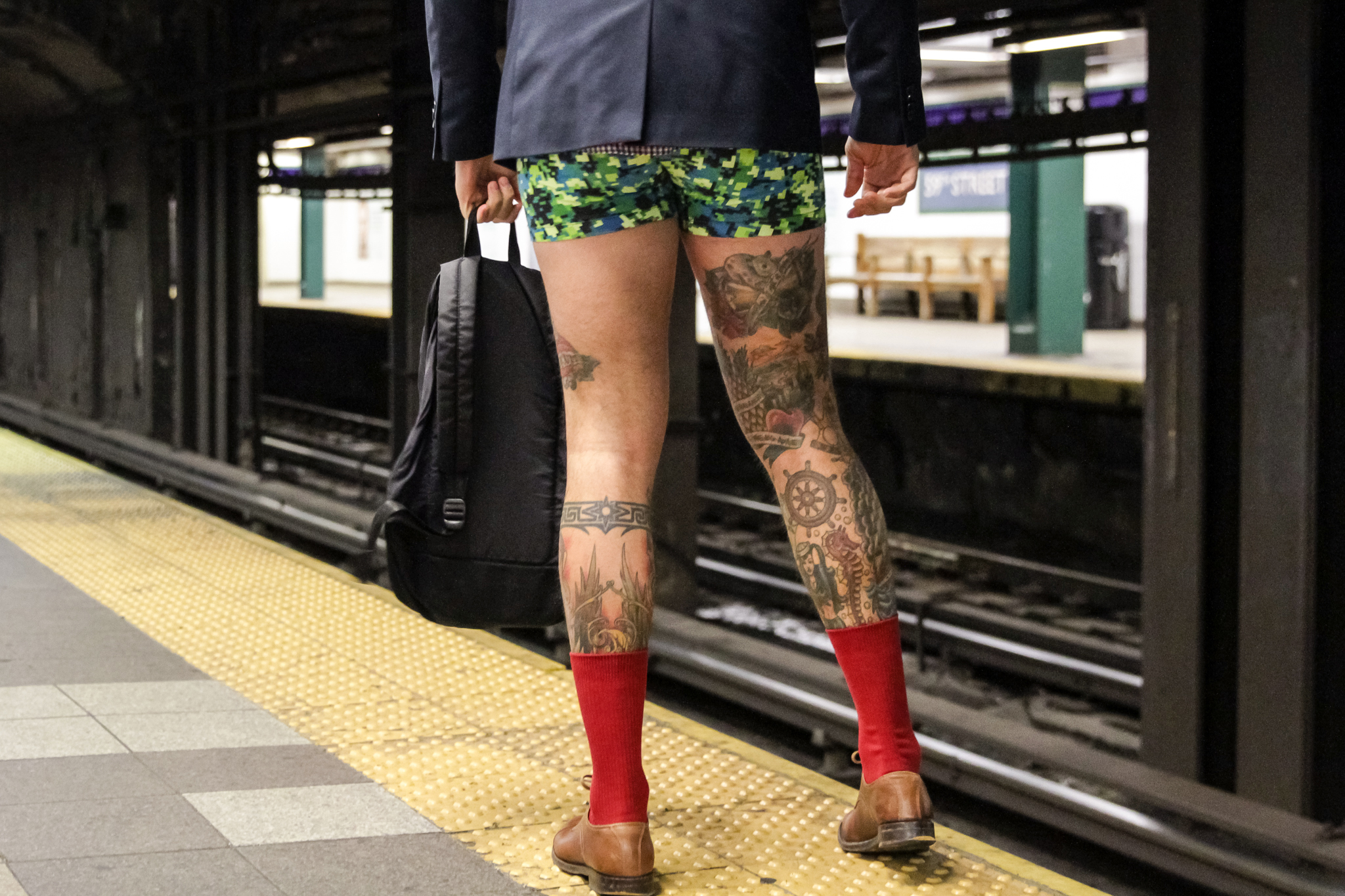 What to expect at this year's No Pants Subway Ride on Sunday