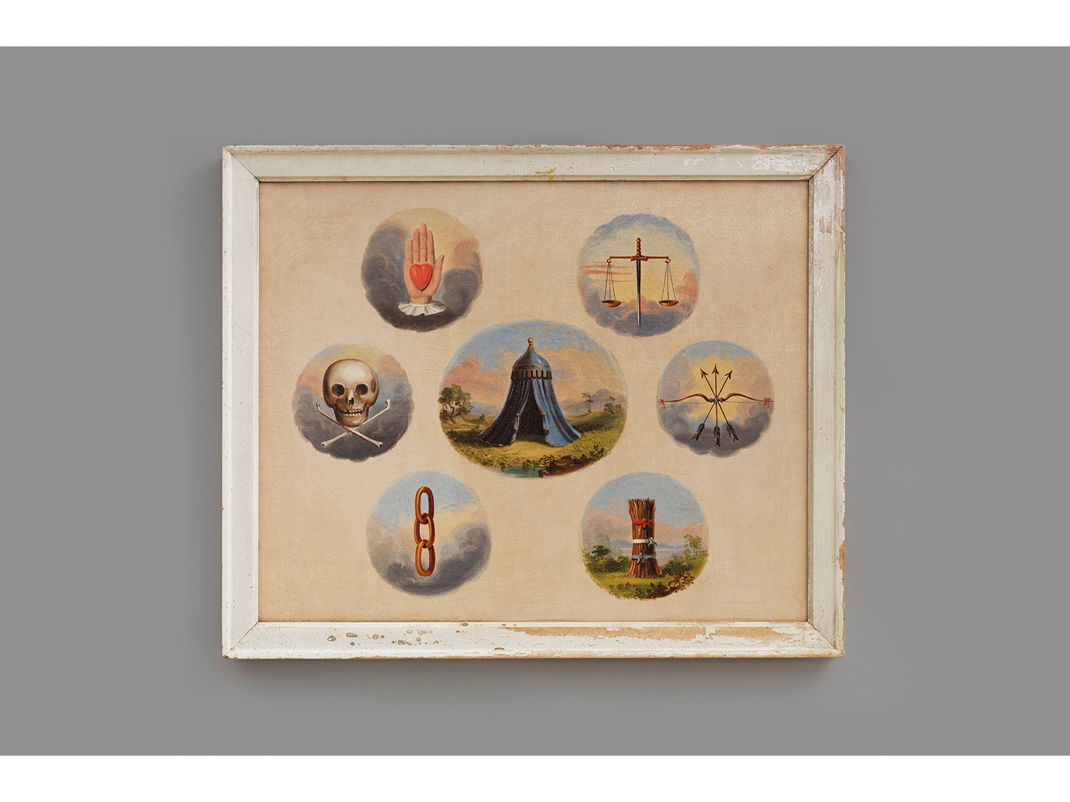 Independent Order of Odd Fellows Tracing Board, c. 1850–1900