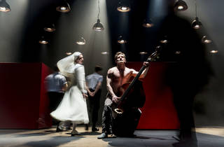 Anna Khalilulina and Peter Rykov in the Cheek by Jowl and Moscow Pushkin Drama Theatre production of Measure for Measure