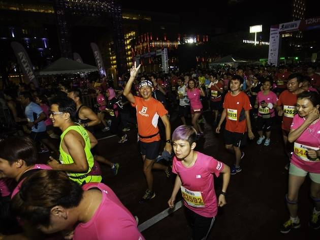 Men's Health and Women's Health Night Run 2016