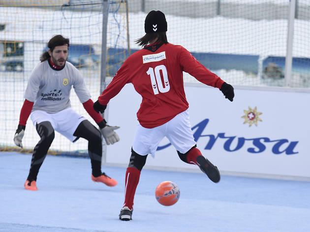 Arosa Icesnowfootball