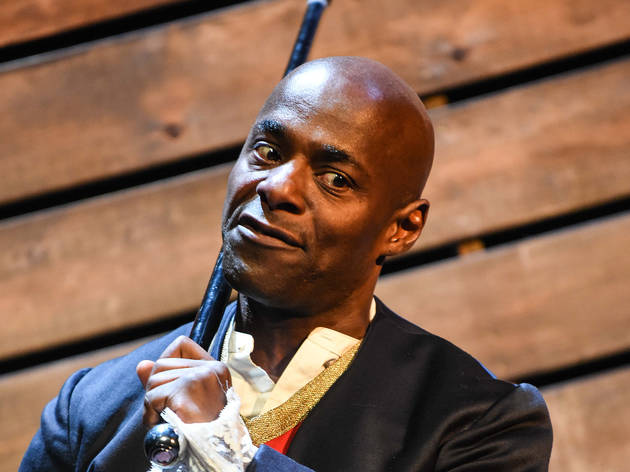 Paterson Joseph in Sancho: An Act of Remembrance
