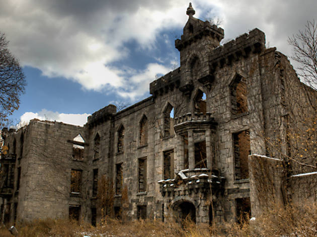 Smallpox hospital on Roosevelt Island