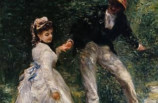 Pierre-Auguste Renoir, 'La Promenade', 1870