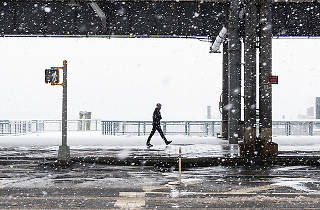 12 photos of winter in New York that will fill you with dread