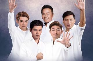 Zhang Ke Fan, Guang Dehui, Allan Woo, Alfred Sim and Desmond Ng