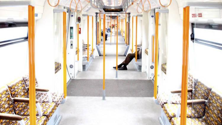 Overground seats