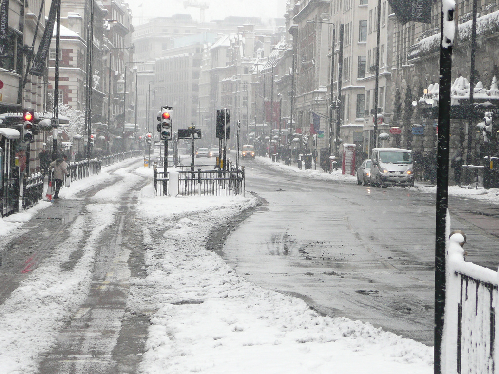 Things to do when it snows in London