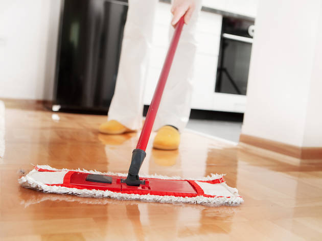 Netejar la casa