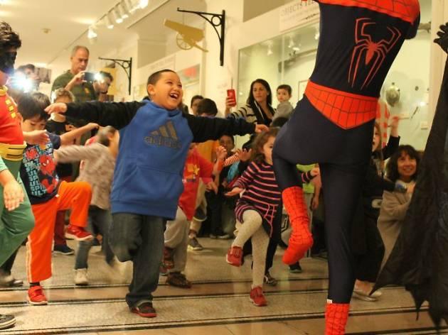 School Vacation Week: Presidential Superheroes