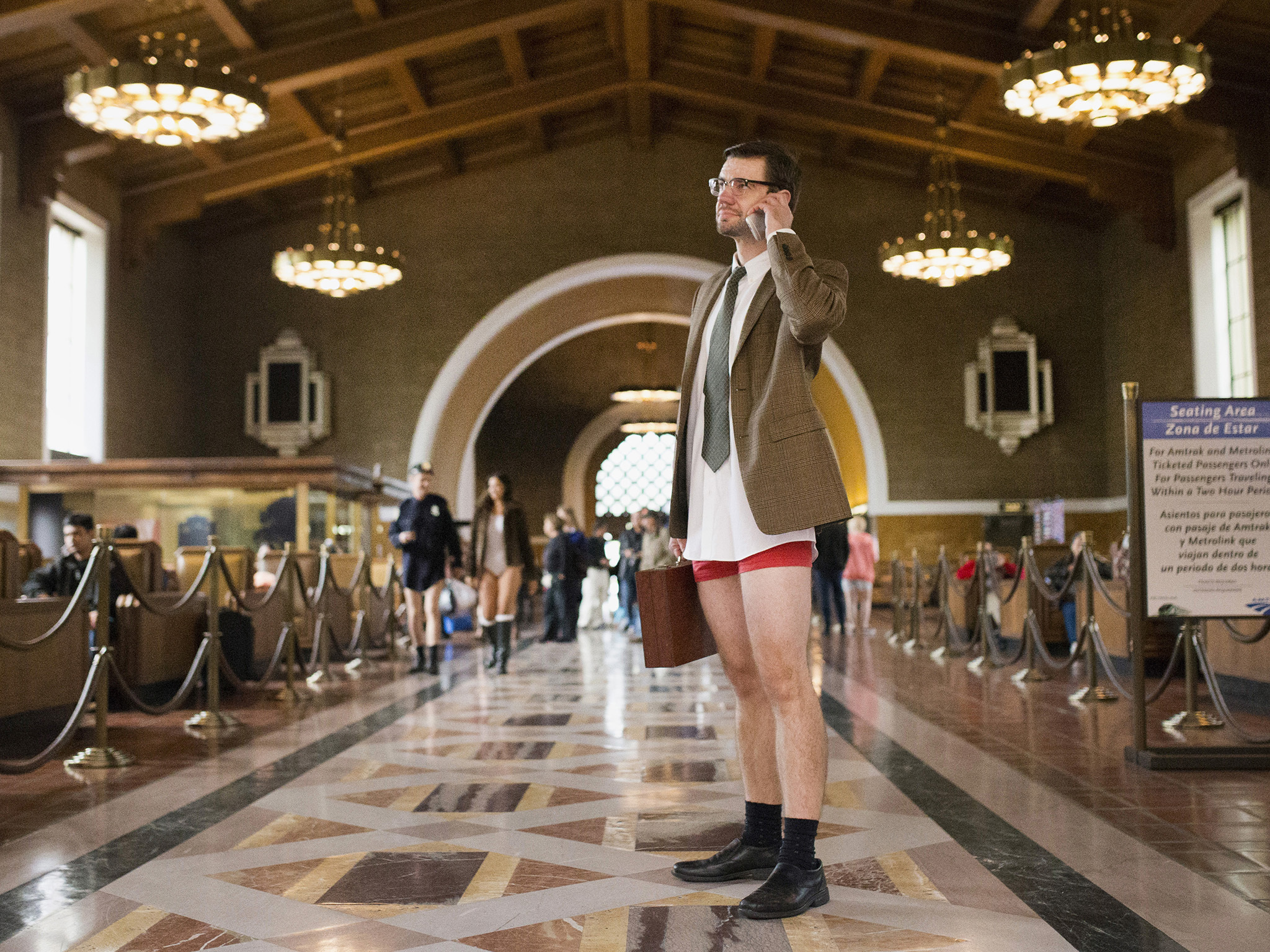 No Pants Metro Ride 2016