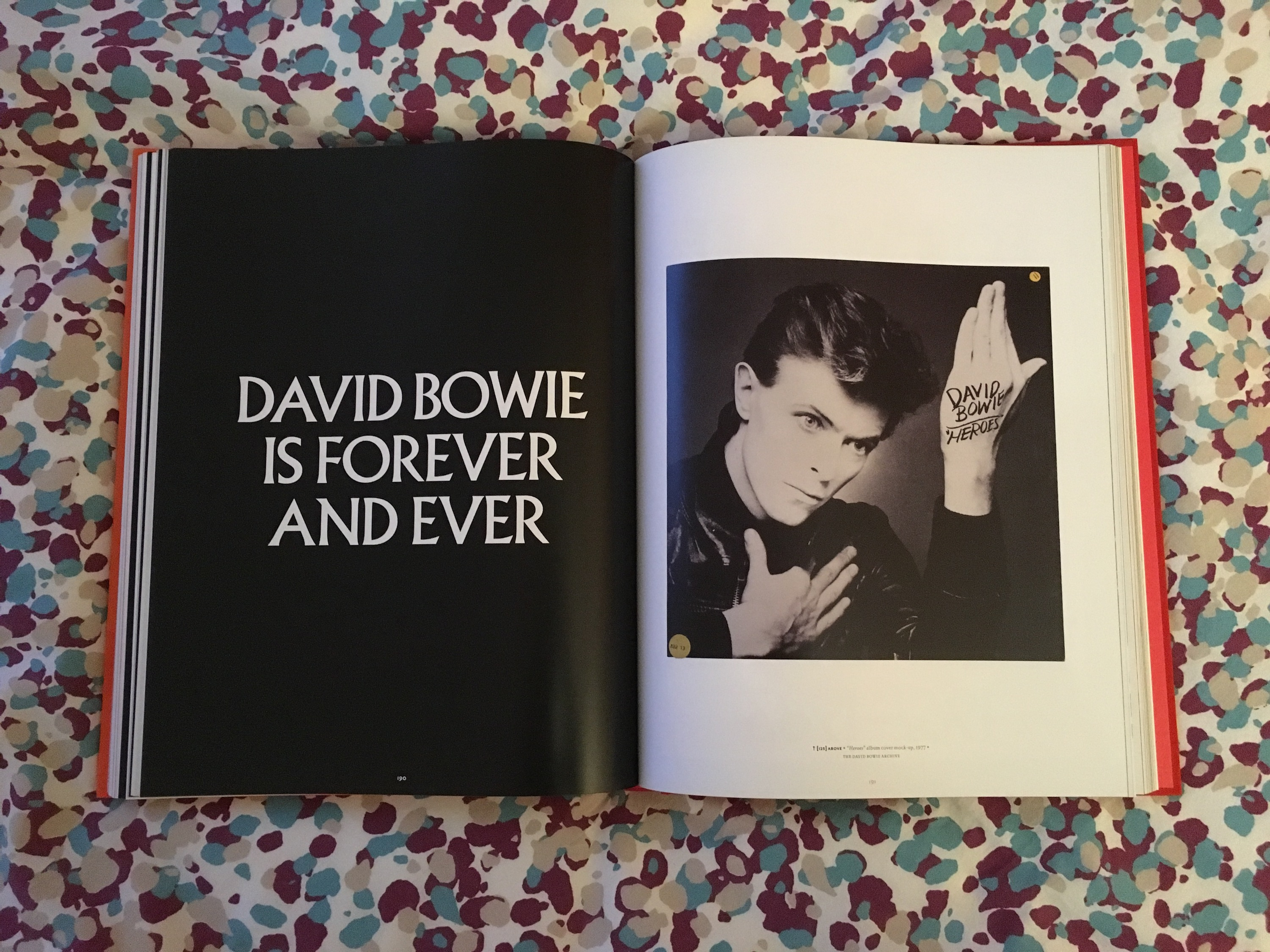 David Bowie is forever and ever