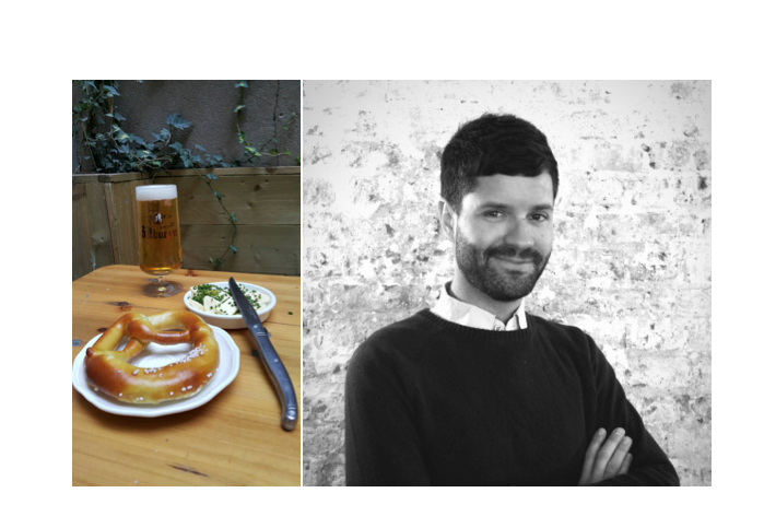 Maxime Hugonnet, 29 ans – Propriétaire du Kiez, biergarten parisien