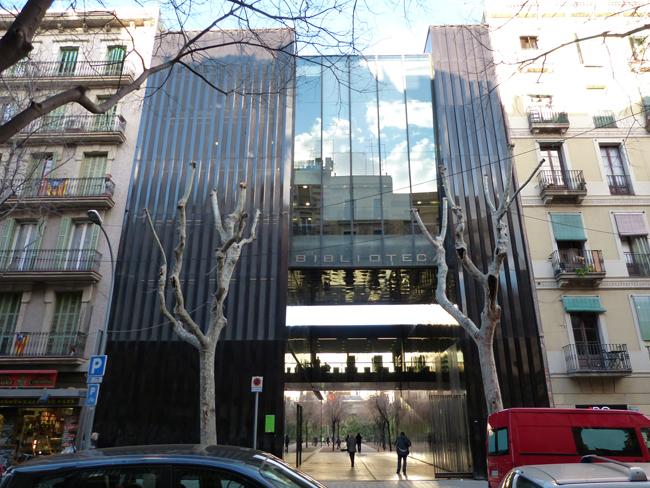 Biblioteca de Sant Antoni - Joan Oliver