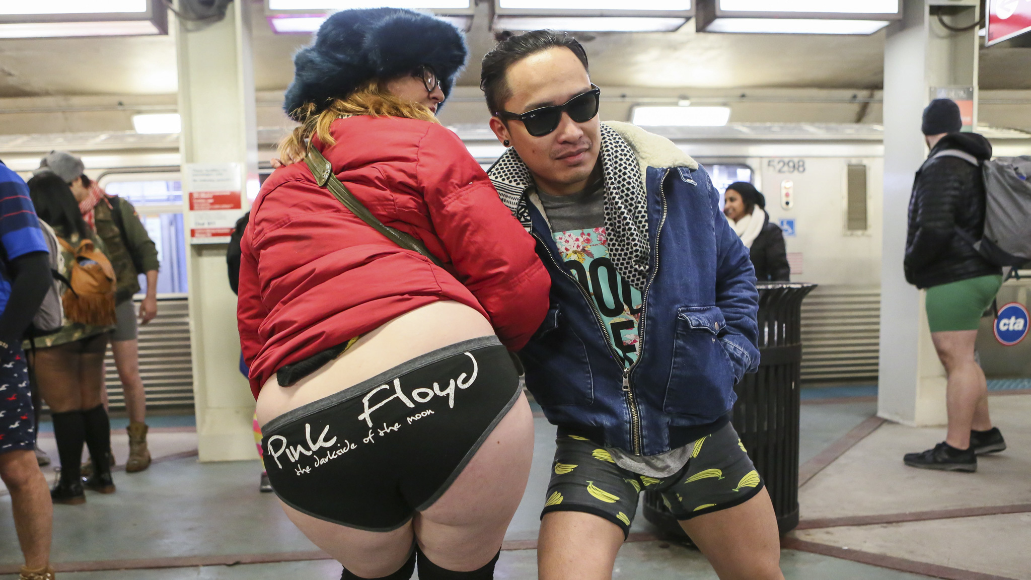 2016 No Pants Subway Ride