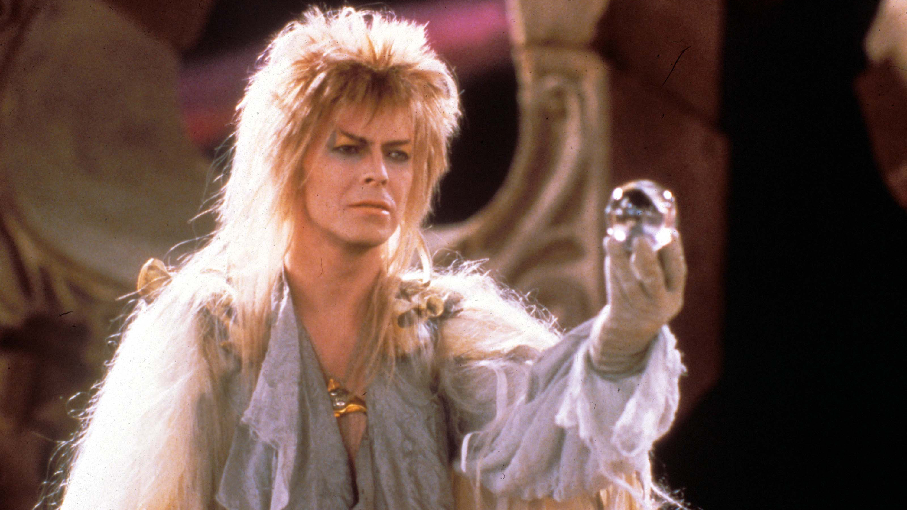 No Merchandising. Editorial Use Only. No Book Cover Usage.Mandatory Credit: Photo by Moviestore/REX/Shutterstock (1587496a)Labyrinth,  David BowieFilm and Television