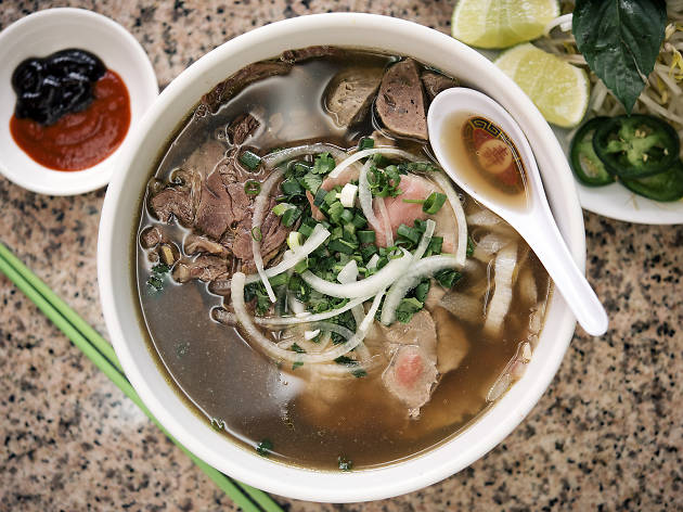 Pho 888's namesake dish is one of the best soups in Chicago.