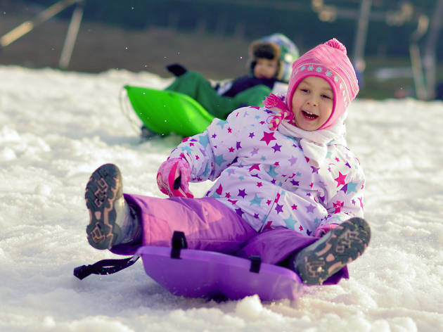 Best sledding hills in New York City