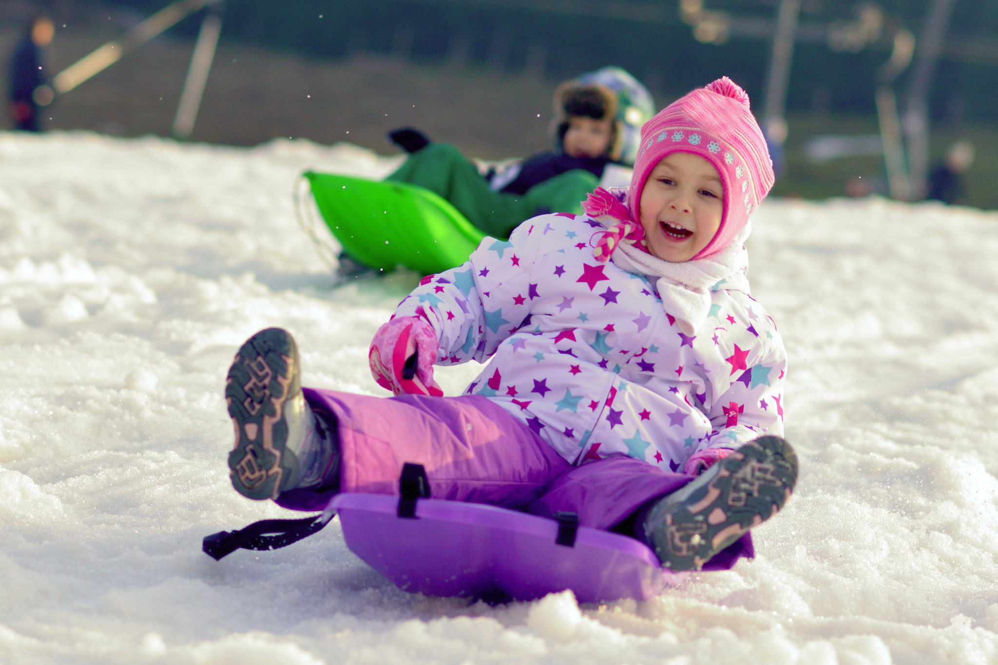 Best sledding hills in New York City for families