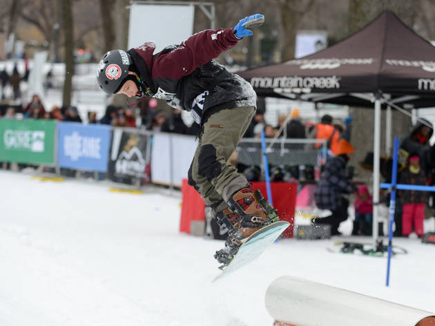 Central Park Winter Jam guide