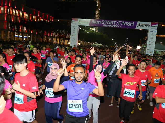 What you can win at this year's Men's Health Women's Health Night Run by AIA Vitality 2017