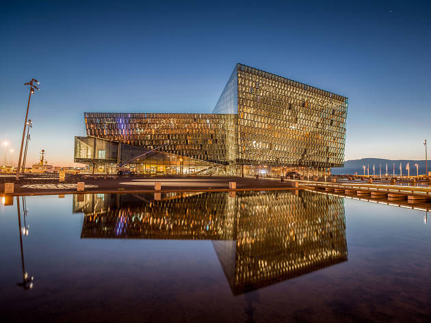 Ten reasons to go to a music festival in Reykjavik: harpa concert hall