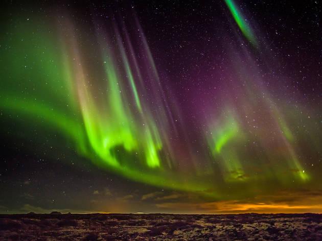Ten reasons to go to a music festival in Reykjavik: Aurora Borealis