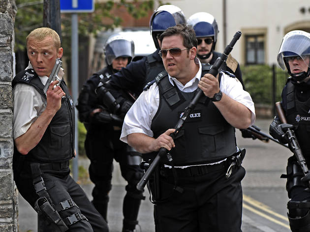 The 100 best comedy movies, Hot Fuzz