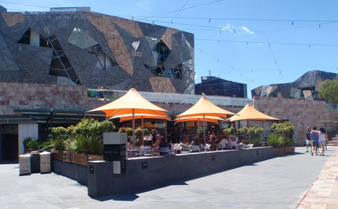 Image result for time out cafe federation square