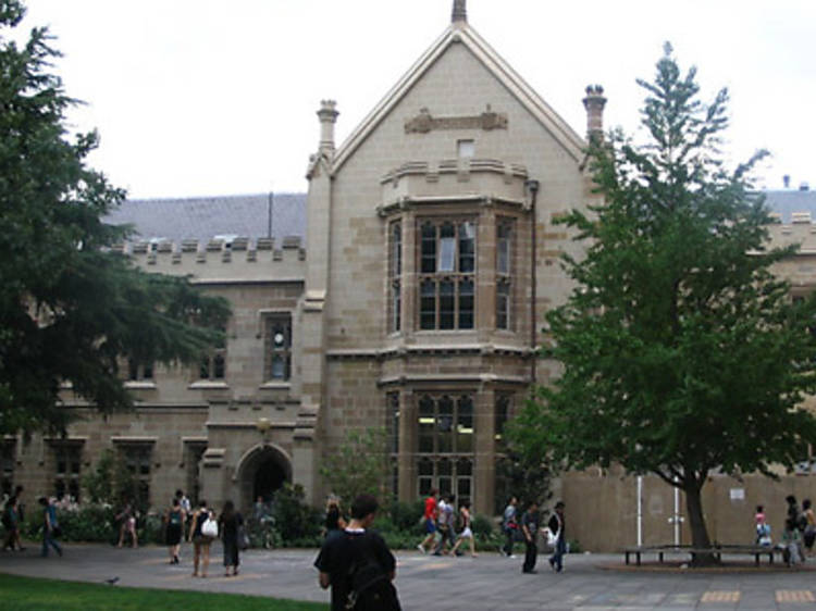 Free public lectures at the University of Melbourne