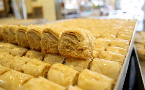 Feast on homemade pastries at Balha's