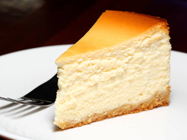 Plain cheesecake at Europa Cake Shop