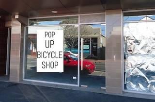 Pop-Up Bicycle Shop