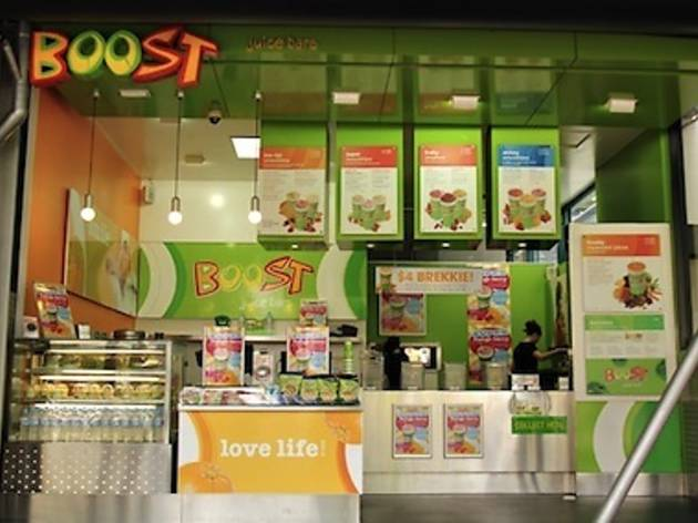 Boost Juice Flinder St