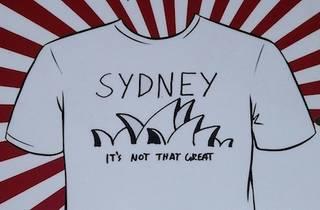 Das T-Shirt Automat: Fitzroy