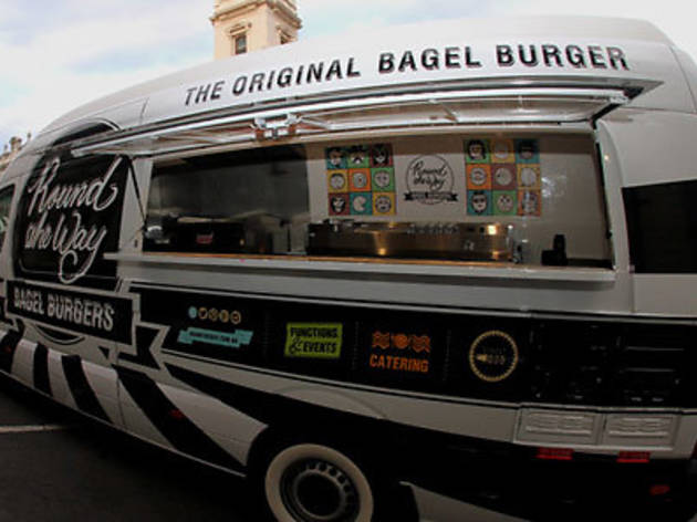 Round the Way: Bagel Burger Food Truck