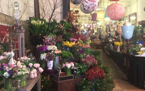The Local Shop and Flowers by Entwine