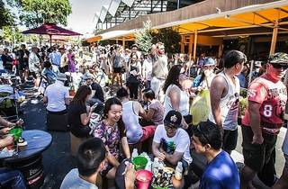 South Melbourne Night Market 2016