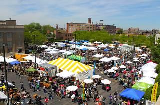 Randolph Street Market Festival Plumbers Hall Shopping
