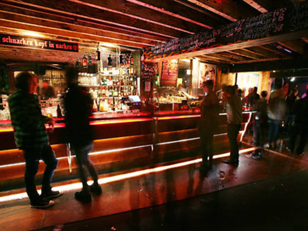 Go to Cherry Bar for late night rockin' good times