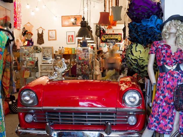 Vintage Garage Shopping In Collingwood Melbourne