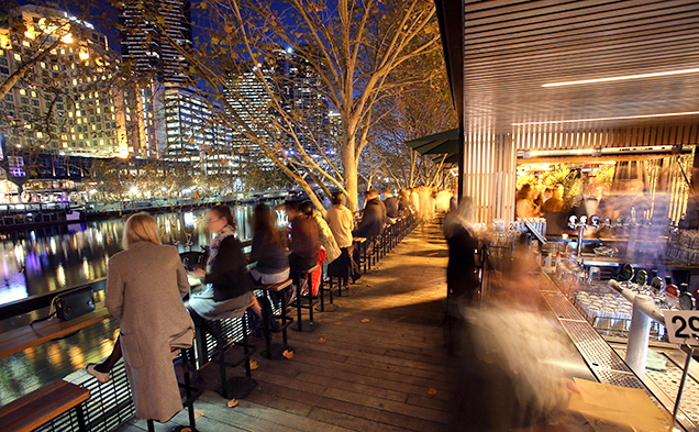 Sunny spots for alfresco dining in Melbourne