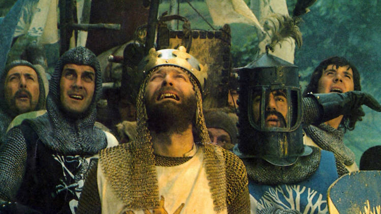 The 100 best comedy movies, Monty Python and The Holy Grail