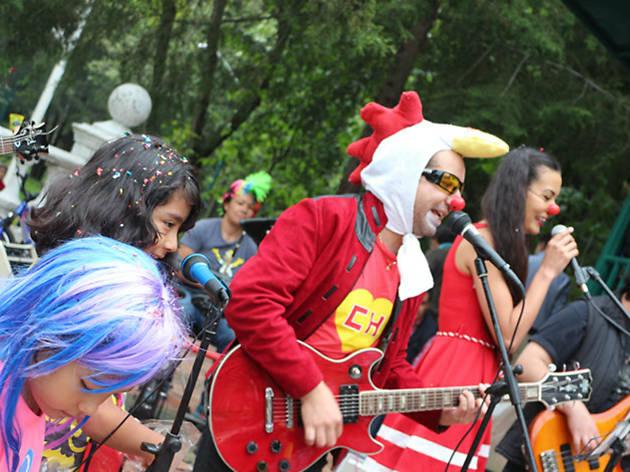 Calcetines Rotos Band, el concierto