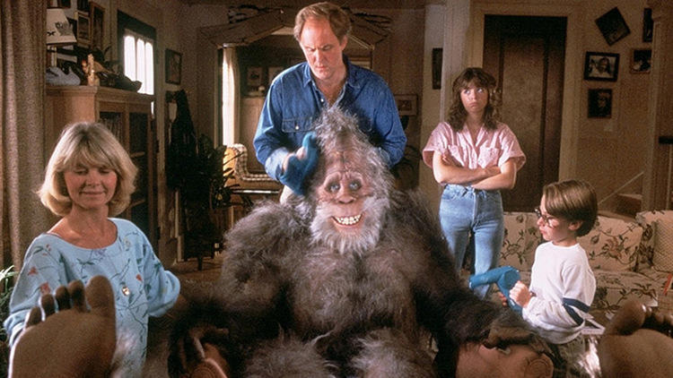 Rick Baker for 'Harry and the Hendersons'
