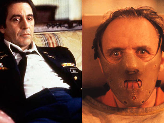 Anthony Hopkins for 'The Silence of the Lambs', Al Pacino for 'Scent of a Woman'