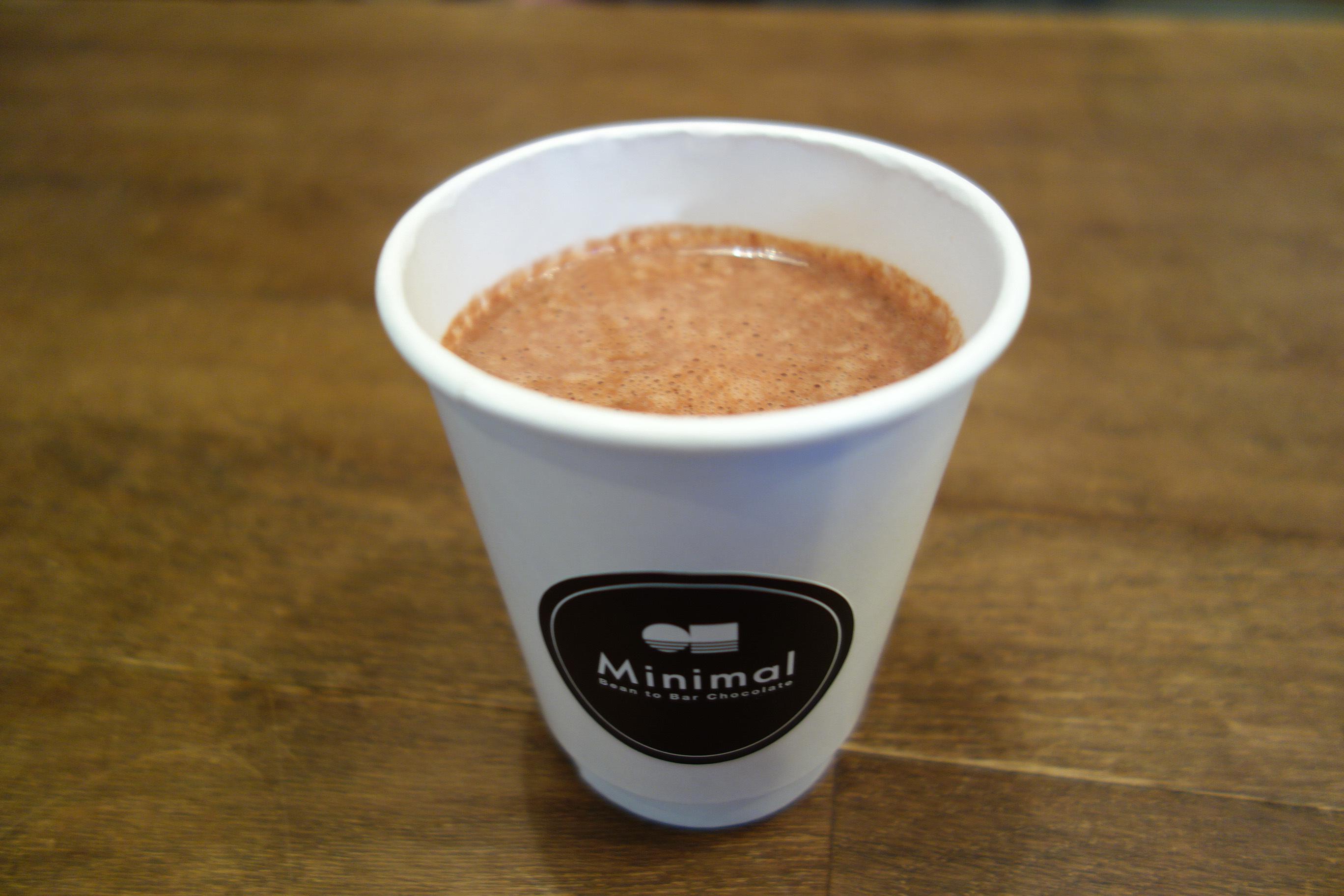 Minimal - Bean to Bar Chocolate -『ホットチョコレート』