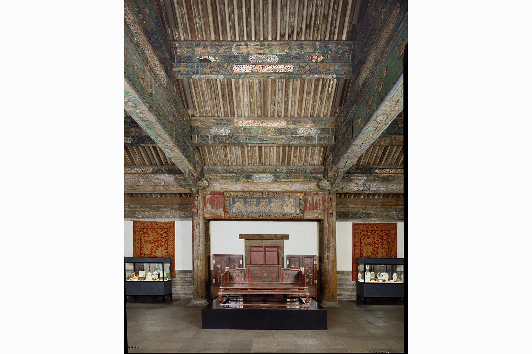 Reception Hall from the Palace of Duke Zhao, China, Beijing, Min